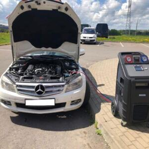 Заправка кондиционера автомобиля в Минске